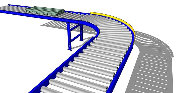 90 Curve Safety Rail