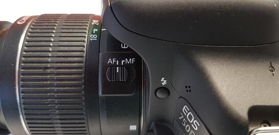 Canon EOS Digital SLR Camera to AF or Auto Focus