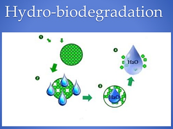 Hydro-biodegradation process shows how plastic is broken down by water