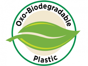 Mark of an oxo-biodegradable plastic