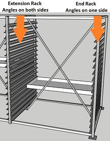 xDiscoverer® Core Tray Storage Racking System Extension and End Racks Explained