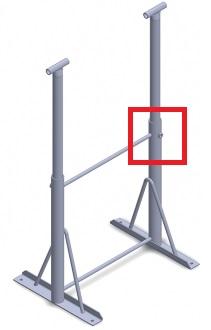 Westernex Support Leg