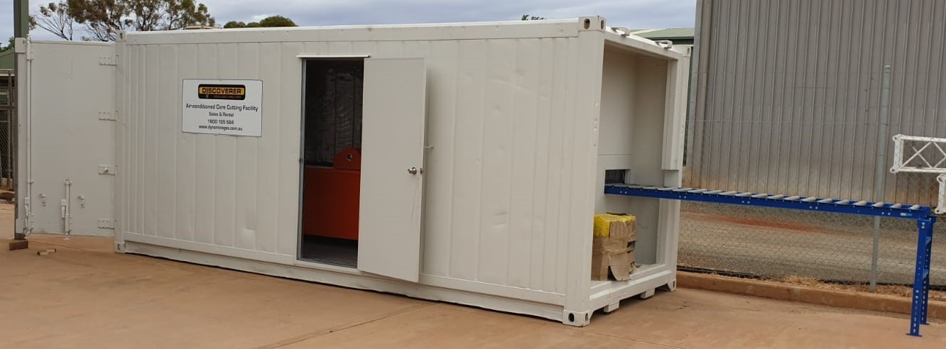 Corewise Core Saw Container Exit