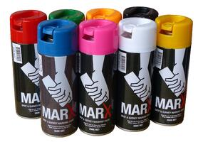 Marx® Survey and Spot Marking Paint 350g - Fluoro Blue