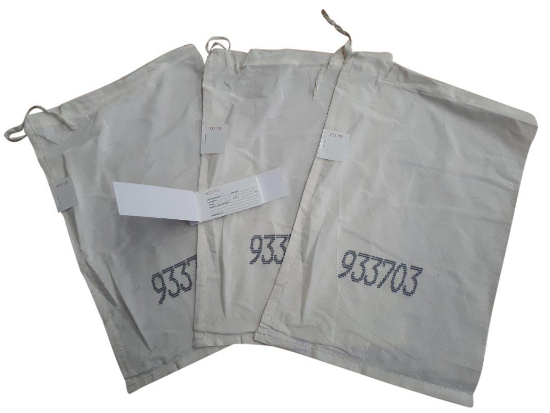 Simberi Ticket Calico Bags