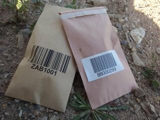 Printed Geochem Bags