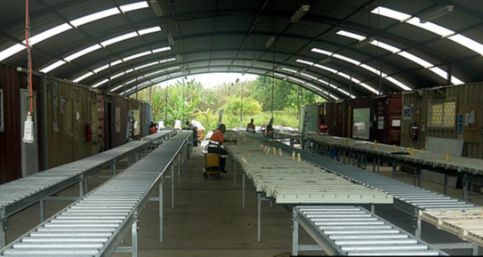 Core Shed Design - Roller Racking Guide